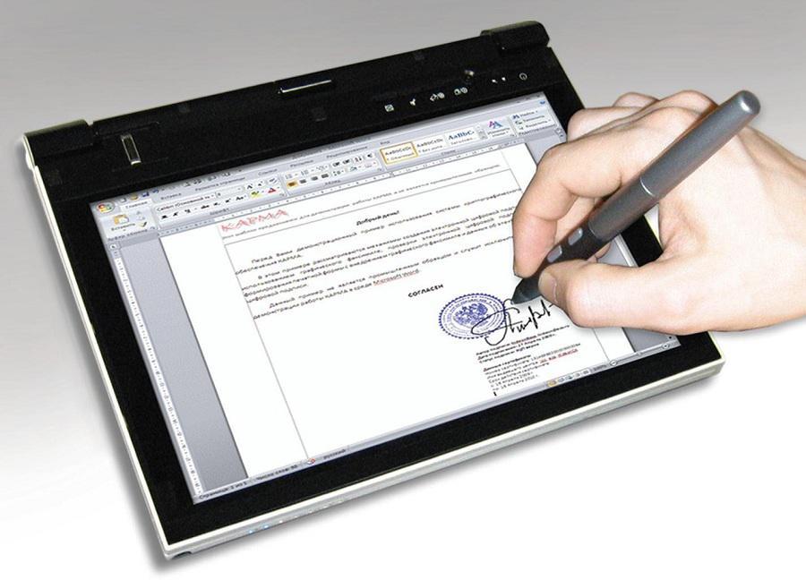 Если на документе стоит электронная подпись, с точки зрения закона, он считается легитимным